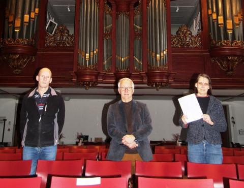 Voor het orgel!
